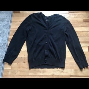 Men's Black Cardigan